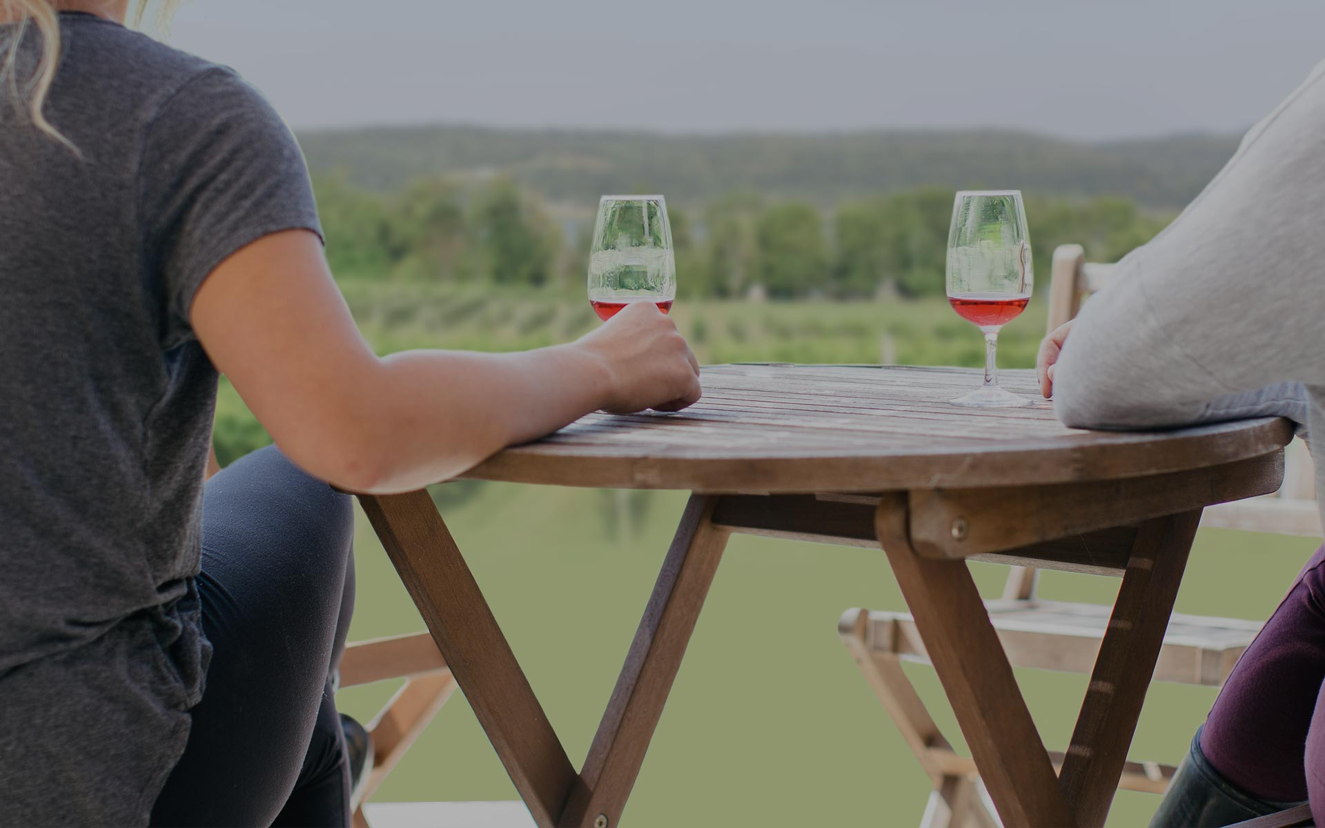 <h1>Your friends, your neighbours, your new favourite wine.</h1>  <p>Pushing the boundaries of wine-making in New Brunswick without passing the border.</p>